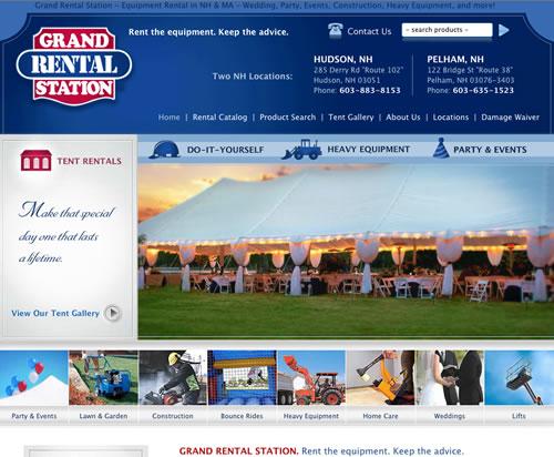 NH Website Design Portfolio - Knox Media Group